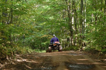 ATV and Side by Side trails near Wigwam Motel